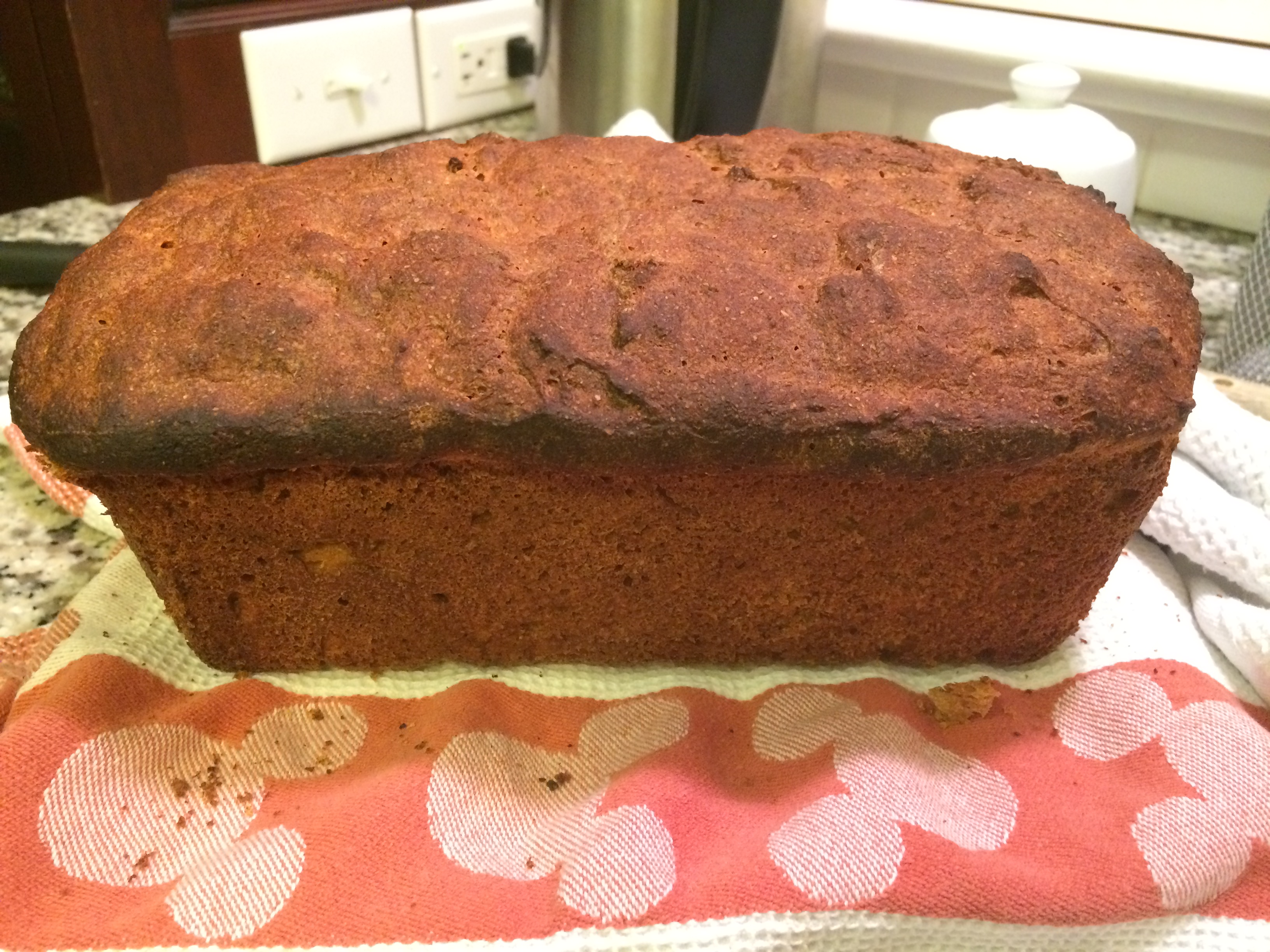 Whole Wheat Bread prior to slicing - notice the great crust!